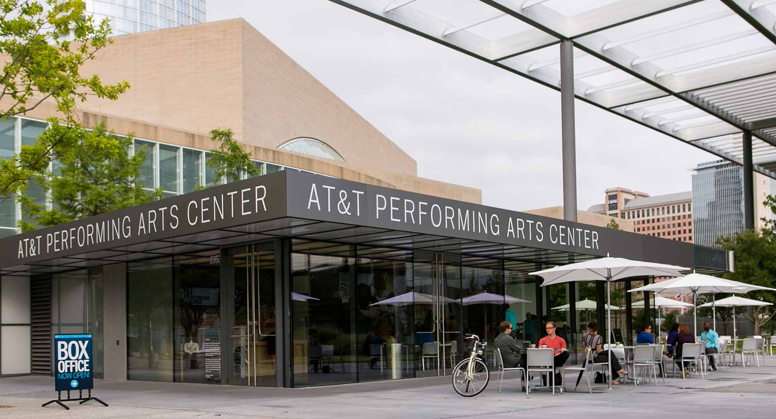 Dallas Arts District ATT Performing Arts Center Carter Rose