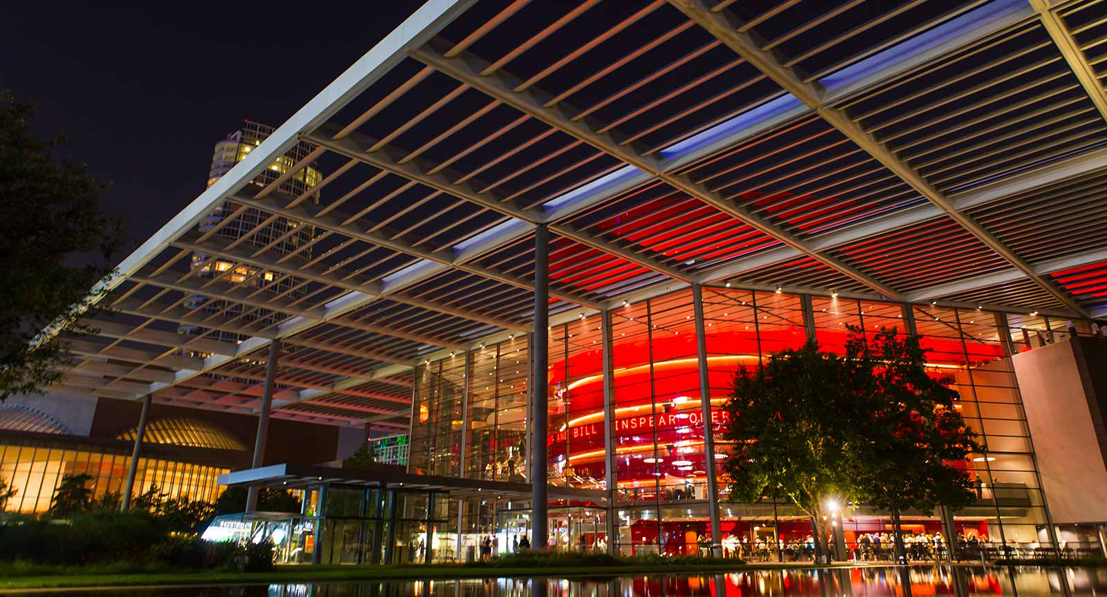 Dallas Arts District Winspear Opera House Carter Rose